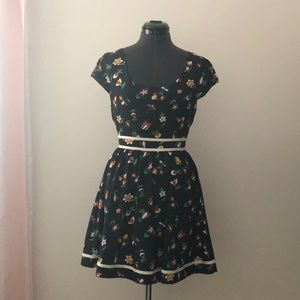 Urban Outfitters (Navy) Luca Couture Dress SIZE 2